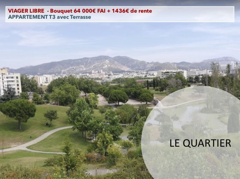 Viager libre MARSEILLE - BOUQUET 64 000€ - RENTE 1 436€  | -marseille_1790
